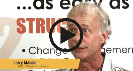 Larry Massie from Mazak – Customer Experience