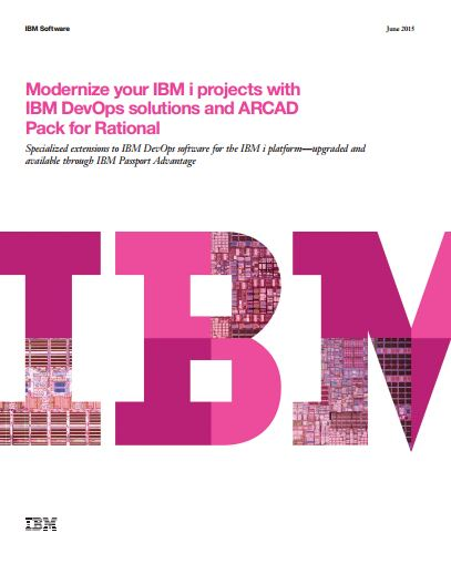 Modernize your IBM i projects with Rational Software and ARCAD Pack for Rational