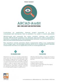 ARCAD Audit Datasheet