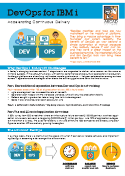 Datasheet DevOps for IBM i