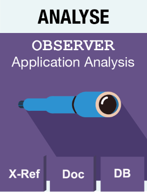 Picto Analyse - Observer - Application Analysis