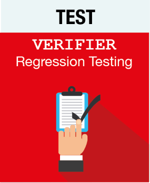 Picto TEST - Verifier - Regression Testing