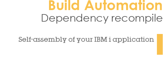 Self-assembly of your IBM i application