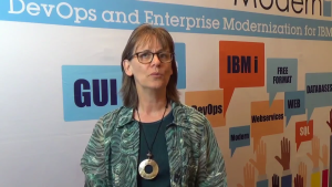 Video: Barbara Harris, IT Director at AECC on her achievements in IBM i Modernization