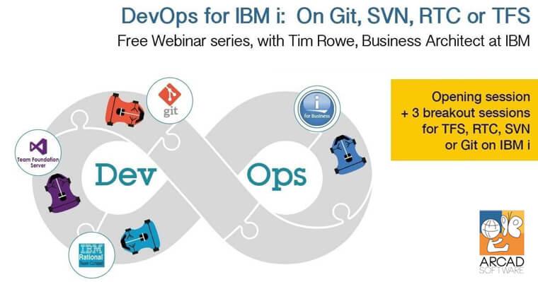 DevOps for IBM i: On Git, SVN, RTC or TFS - ARCAD Software
