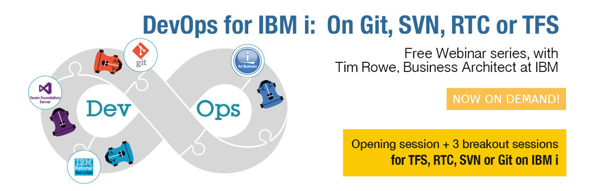 [Webinar series] DevOps for IBM i: On Git, SVN, RTC or TFS