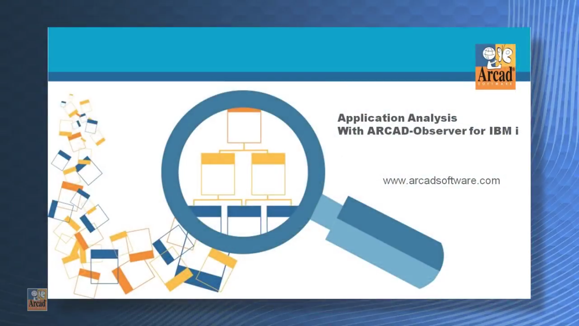 pplication Analysis with ARCAD-Observer for IBM i