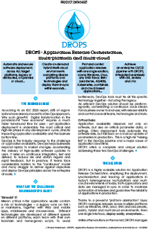 Drops Software Brochure