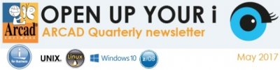 Banner ARCAD Newsletter - Open up your i