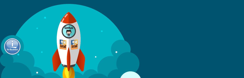 GitHub and Arcad Software partnership