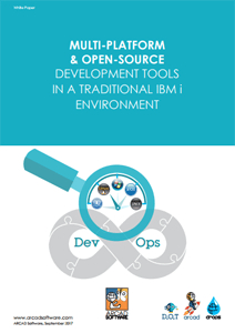 MULTI-PLATFORM & OPEN-SOURCE DEVELOPMENT TOOLS IN A TRADITIONAL IBM i ENVIRONMENT