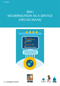 IBM i Modernization as a Service (ARCAD MAAS) - ARCAD Software