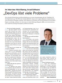 """""""DevOps löst viele Probleme"""""""