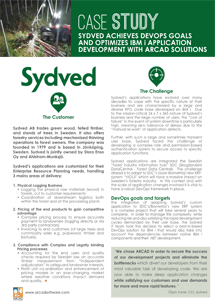 Customer Success Story - Sydved - ARCAD for DevOps