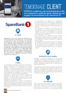 Success Story SpareBank1 ARCAD for DevOps