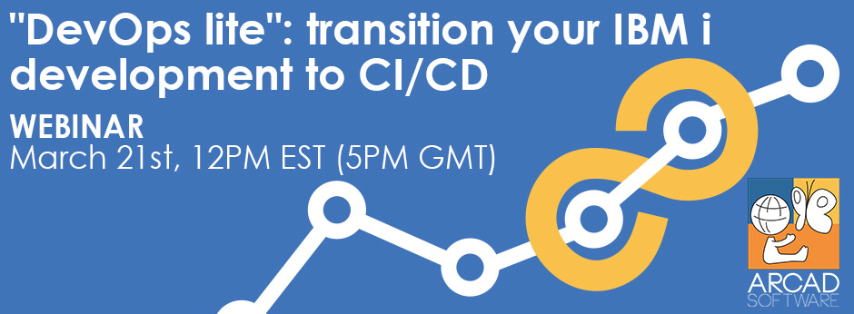 """DevOps lite"": transition your IBM i development to CI/CD"