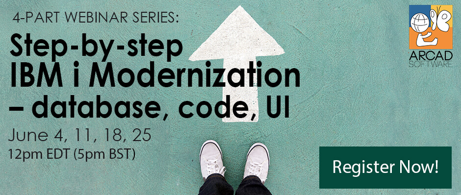 Step by step IBM i Modernization