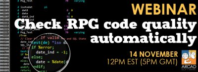 Check RPG code quality, automatically