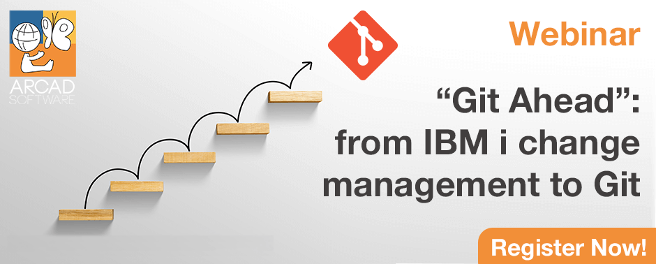 "Webinar: ""Git Ahead"": from IBM i change management to Git"